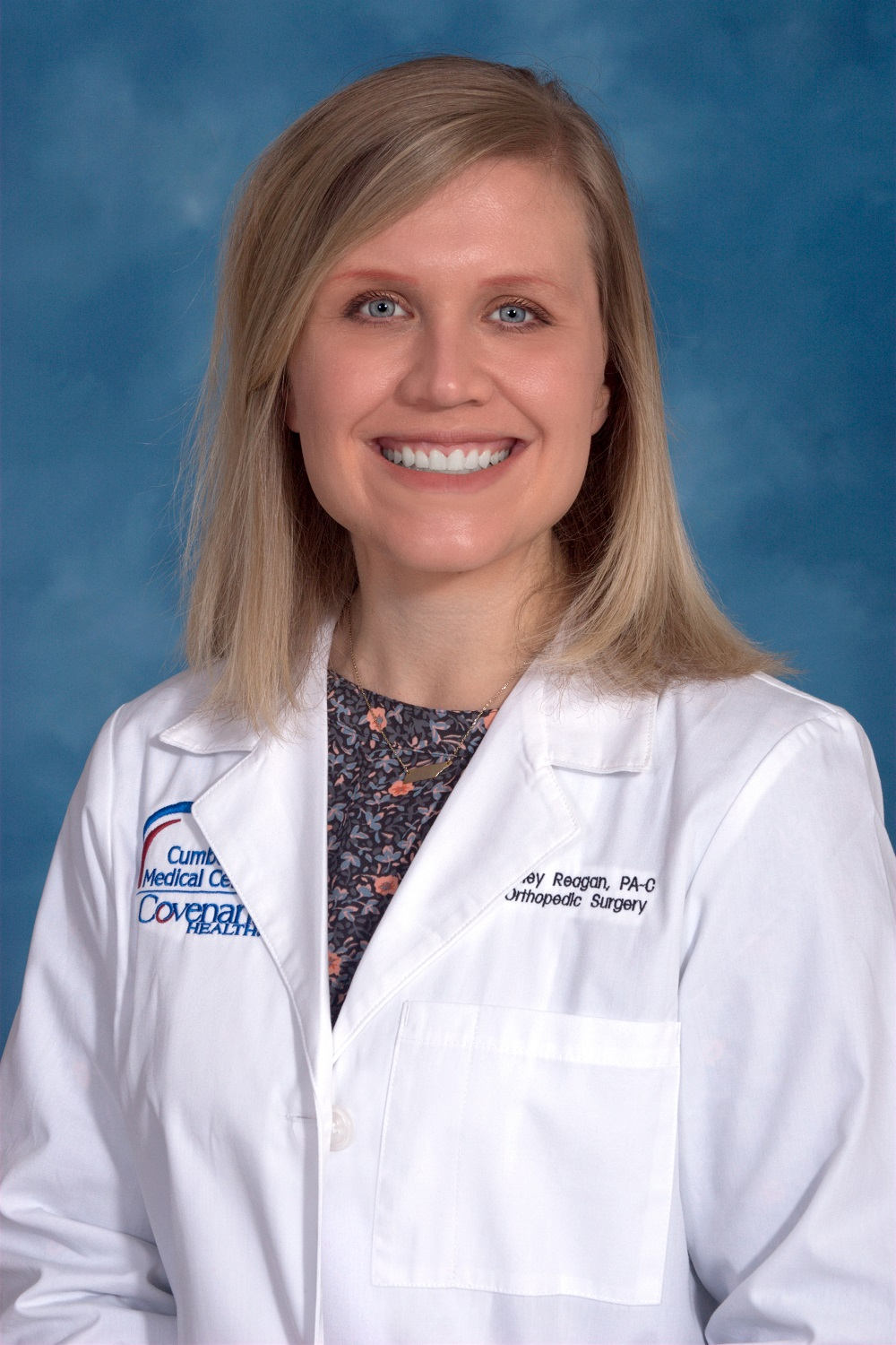 Ashley Reagan, PA-C is a certified physician assistant and a member of the medical team at Cumberland Orthopedics.