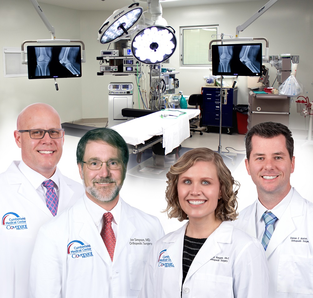 Welcome to Cumberland Orthopedics! We're excited to tell you about our excellent team and services.